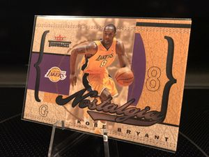 2004 Fleer Throwbacks Topps Kobe Bryant Basketball Card - RARE Numbered Stamped 0672/1996 - Send for PSA Beckett graded 9 or 10 - $39 OBO for Sale in Carlsbad, CA
