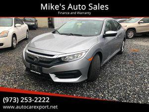 2017 Honda Civic for Sale in Garfield, NJ