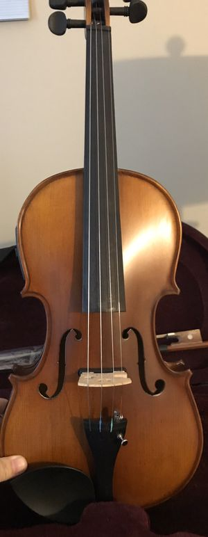 Brand New acoustic electric violin with case,bow and Rosin for Sale in Lebanon, TN