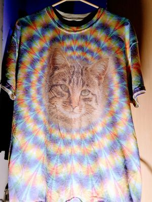 Psychedelic cat mens XL for Sale in Everett, WA