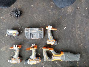 Ridgid power tools for Sale in Seattle, WA