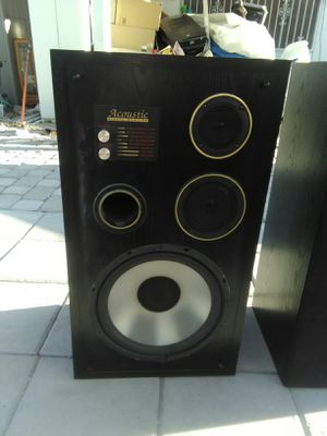 "Acoustic Studio Speakers 12"" Subs Home Audio for Sale in Las Vegas, NV"