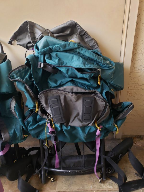 2 Camp Trails Night Stay Hiking Backpacks
