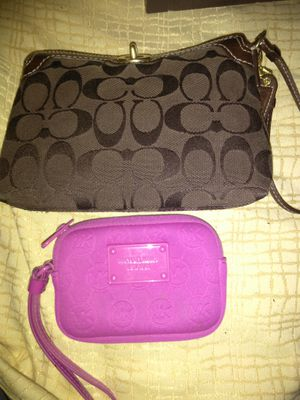 Coach new and Micheal Kors wristlets wallet change purse for Sale in Pittsburgh, PA