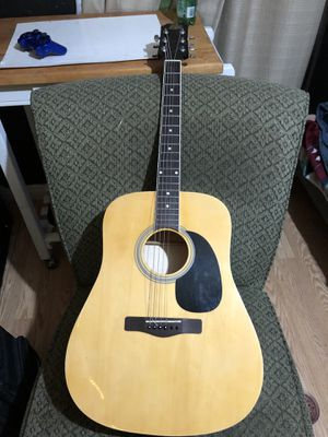 Acoustic guitar Rogue (needs new bone saddle and strings) for Sale in San Bernardino, CA