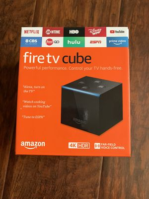 Amazon Fire TV Cube 4K Ultra (Brand New) -$100 for Sale in Schaumburg, IL