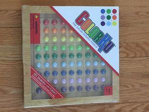 Color sudoku puzzle game, new, in original packaging for Sale in Morton Grove, IL