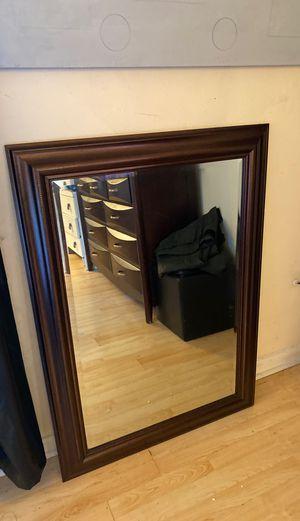Dark brown wall mirror for Sale in Virginia Beach, VA