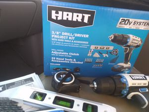 Hart 3/8 drill/driver project kit for Sale in Greer, SC