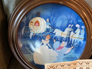 Plates - Disney Bambi and Cinderella for Sale in Smyrna, TN