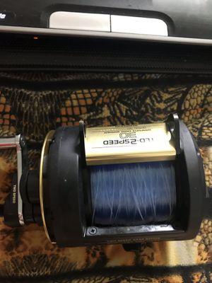 Like new trolling deep sea fishing reel Shimano TLD 2 speed . $150 for Sale in Westminster, CA