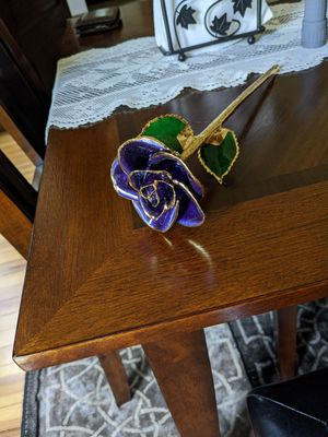 24k Gold Dipped Rose for Sale in Binghamton, NY