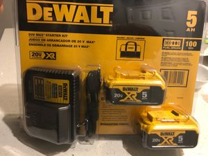 Dewalt batteries for Sale in Las Vegas, NV