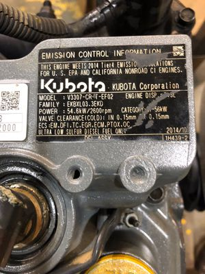 Kubota V3307 DEF Compliant Turbo Diesel 4 cylinder for Sale in Fishersville, VA