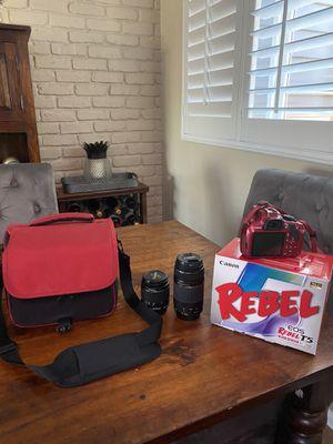 Canon Rebel EOS T5 Camara for Sale in Alameda, CA