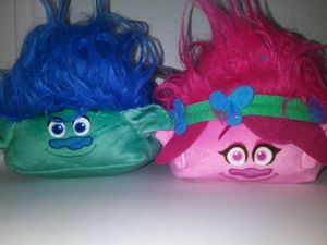 Trolls cube plushes for Sale in Plano, TX