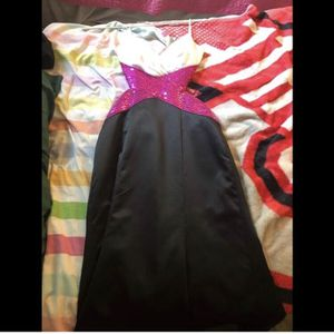 Pink/black Prom Dress for Sale in Northfield, OH