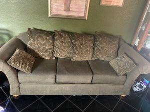 Sofa coach set of 2pc love seat and 3 secc. for Sale in Fontana, CA