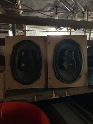 Polk audio 6x9 car stereo speakers for Sale in Boston, MA