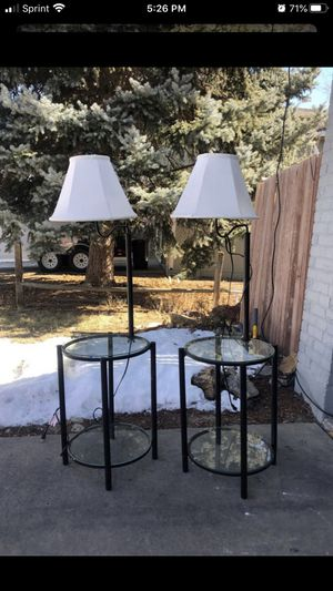 Lamp end tables/nightstands for Sale in Arvada, CO