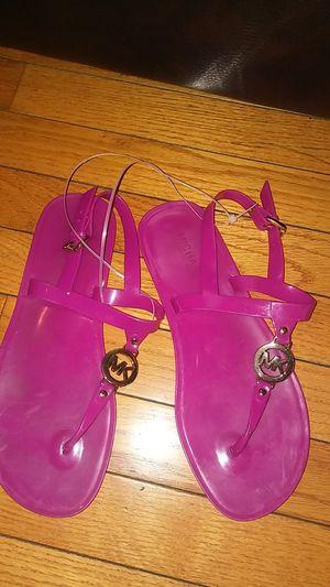 Purple Michael Kors jelly sandal for Sale in Philadelphia, PA