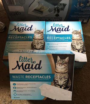 Litter box and supplies for Sale in Felton, DE