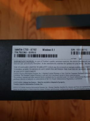 New in box Toshiba laptop for Sale in Rosedale, MD