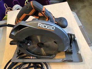 """Rigid Circular Saw 15amp 7 1/4"""" for Sale in Wylie, TX"""