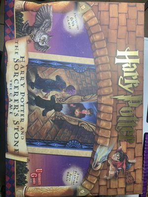 Harry Potter and the Sorcerers Stone board game 2000 8+ Complete NEW open box for Sale in Dallas, TX