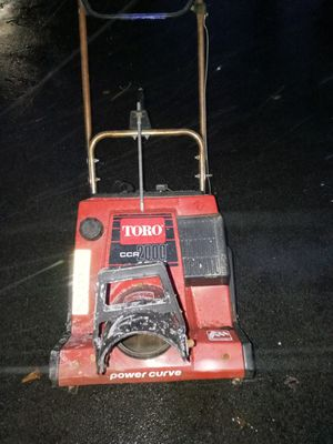 Toro ccr2000 for Sale in Getzville, NY