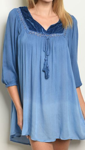 Blue ombre tunic Small-large for Sale in Las Vegas, NV