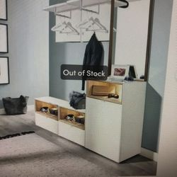 Entry Bench, Coat Rack and Storage for Sale in Bellevue,  WA