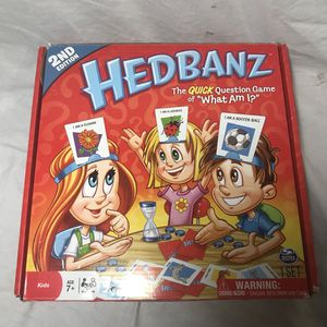 HedBanz Question Board Game for Sale in Philadelphia, PA