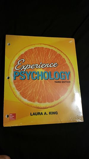 Experience Psychology 3rd Edition - King for Sale in Anchorage, AK