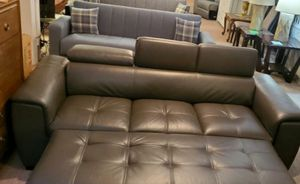 Pull-out Sleeper Sofa, Adjustable headrest Gray for Sale in Portland, OR