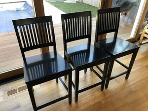Crate and Barrel, 3 bar stools for Sale in MARTINS ADD, MD