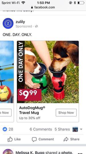 Auto Dog Travel Mug-Brand New for Sale in Lexington, KY