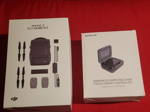DJI mavic 2 Pro Fly More Kit carry case and Smart Controller carry case for Sale in Lanham, MD