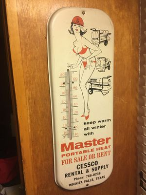 Cessco rentals advertising thermometer for Sale in Wichita Falls, TX
