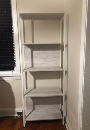 Grey & white target bookcase/shelving unit. for Sale in Washington, DC