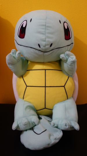 """Squirtle Plush 13"""" Pokemon Stuffed Animal for Sale in New York, NY"""