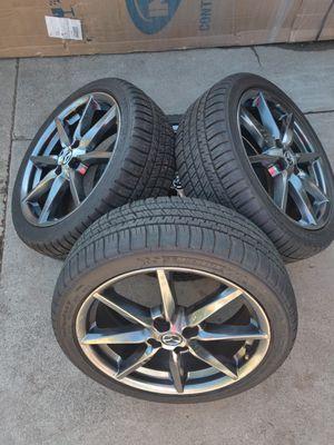 Mazda MX-5 Miata Wheels 205/45R17 Michelin ND 2016-2020 17x7 4x100 for Sale in North Highlands, CA