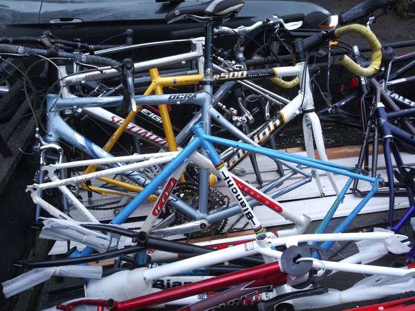 20+ Bike Frames