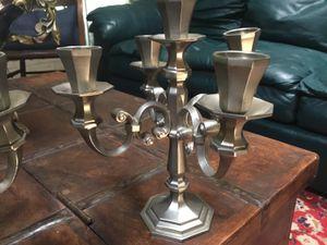 RARE pair of candelabra, IREILING-ZINN for Sale in Houston, TX