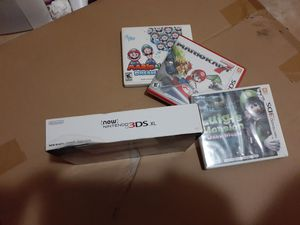 NEW Nintendo 3ds XL bundle... for Sale in Fort Lauderdale, FL