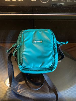 Supreme Teal Shoulder Bag for Sale in Darien, IL