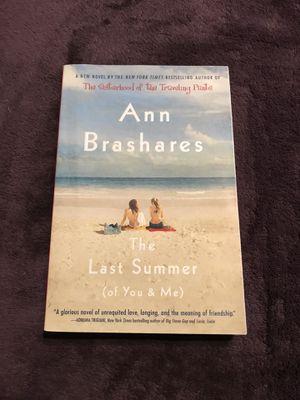 Ann Brashares The Last Summer of You and Me for Sale in Harrisonburg, VA
