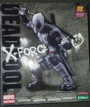 MARVEL DEADPOOL X-Force Statue Figure Toy Doll Previews Exclusive for Sale in San Diego, CA