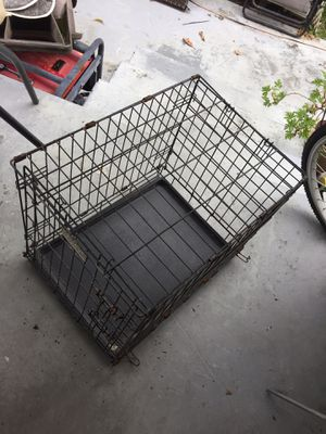 Wire dog kennel for Sale in Homestead, FL
