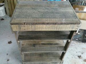 Rustic wood shelf for Sale in Morgantown, WV